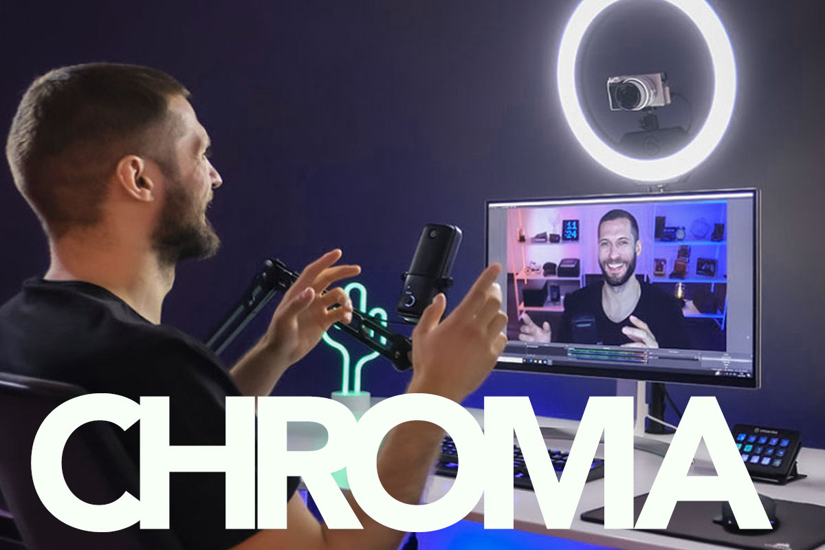 Zoom Green Screens - Chromascreen